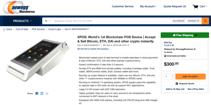 1584619556 901 XPOS® is now available on NewEgg