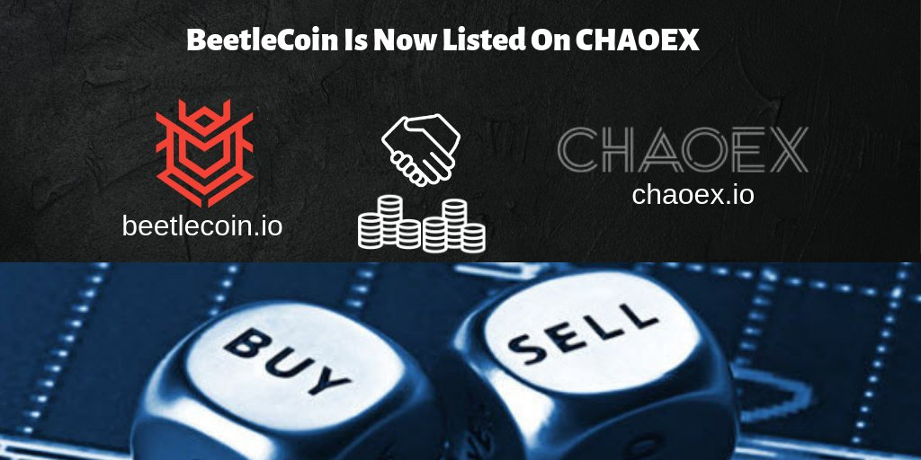 BEETLE COIN Listed on CHAOEX