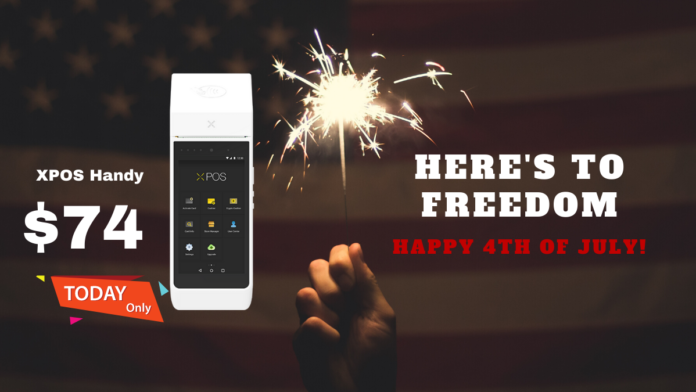 July 4th XPOS Handy Flash Sale
