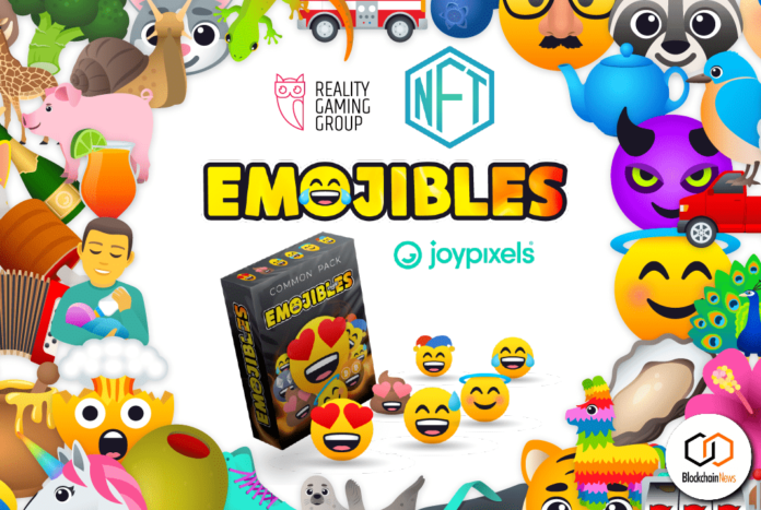 emojibles reality gaming group nft joypixels collect trade share emojis cryptocurrency tokens NFT NFTs 1