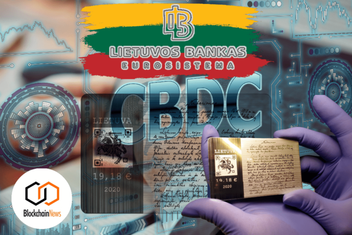 lithuania cbdc central bank cryptocurrency crypto digital currency