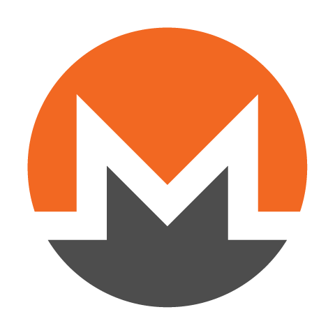 monero symbol on white 480