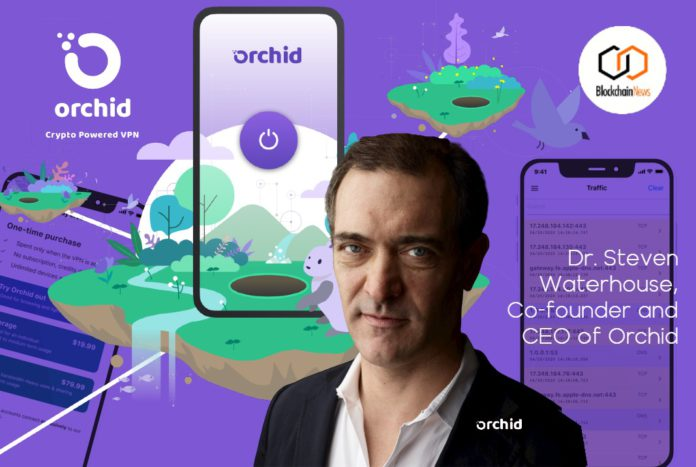 orchid waterhouse vpn blockchain cryptocurrency DLT privacy browsing tor browser anonymous anonymity