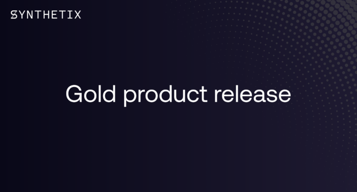Gold product release 1