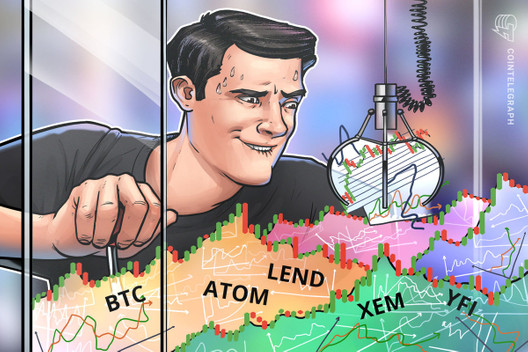 Top 5 Cryptocurrencies to Watch This Week BTC ATOM LEND