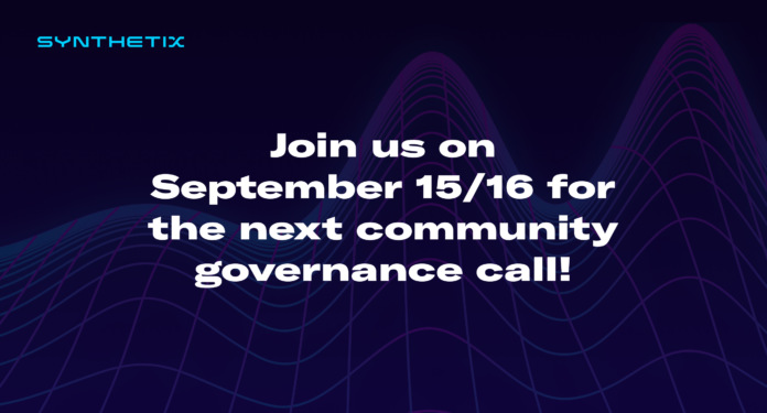 Community governance call