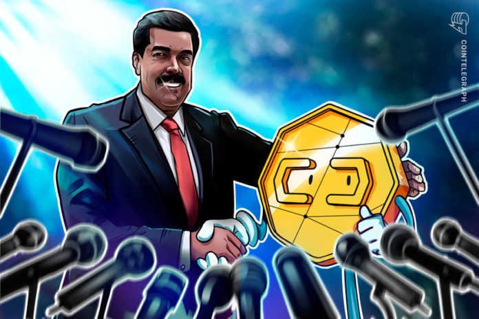Maduro claims crypto will play role in fighting sanctions against