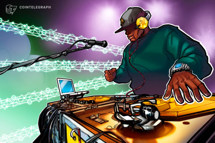 Russian star transfers song rights on blockchain as major labels