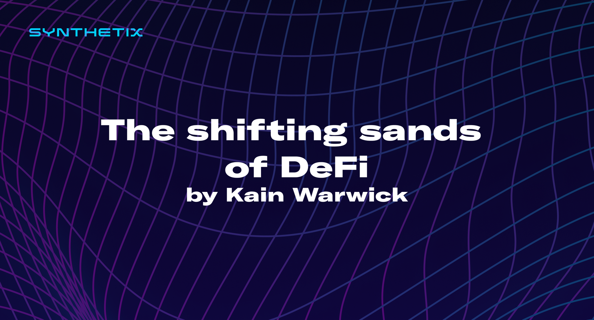 The shifting sands of DeFi