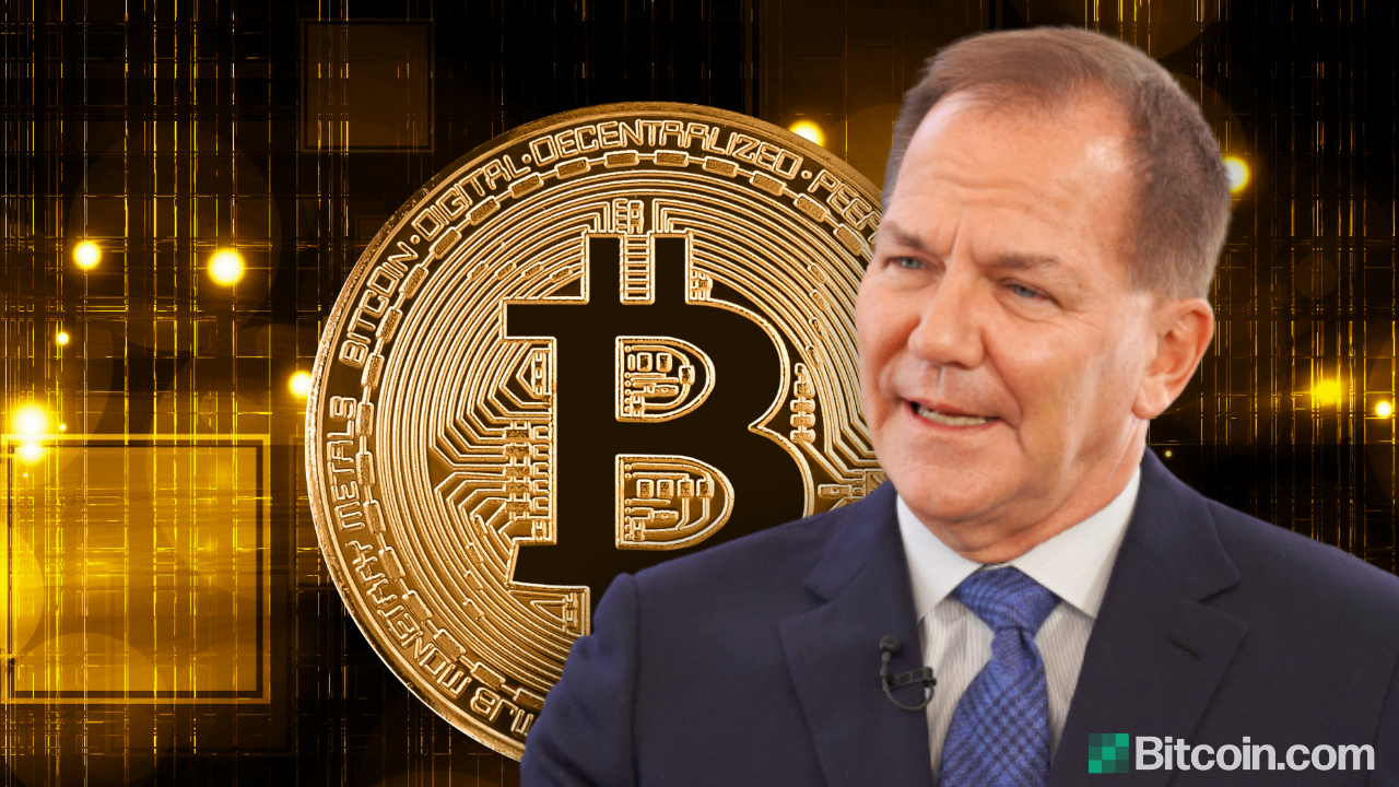 El multimillonario Paul Tudor Jones ve una gran ventaja en Bitcoin, como invertir en Apple o Google al principio