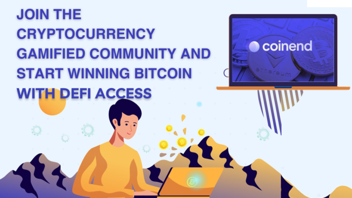 Coinend 123 Take off New Gamified Crypto Prediction Platform