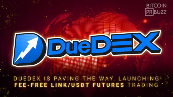DueDEX is Paving the Way Launching Fee Free LINKUSDT Futures Trading