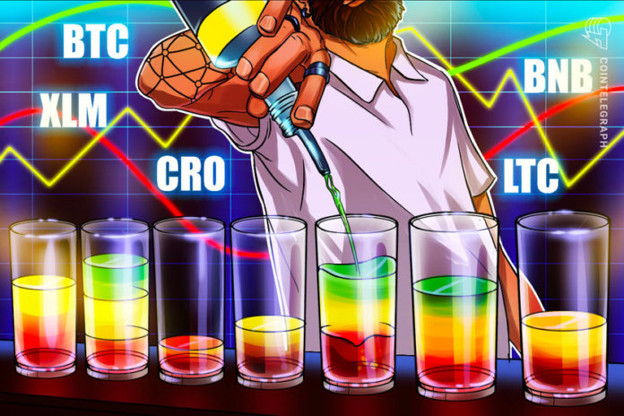 Top 5 cryptocurrencies to watch this week BTC XLM CRO