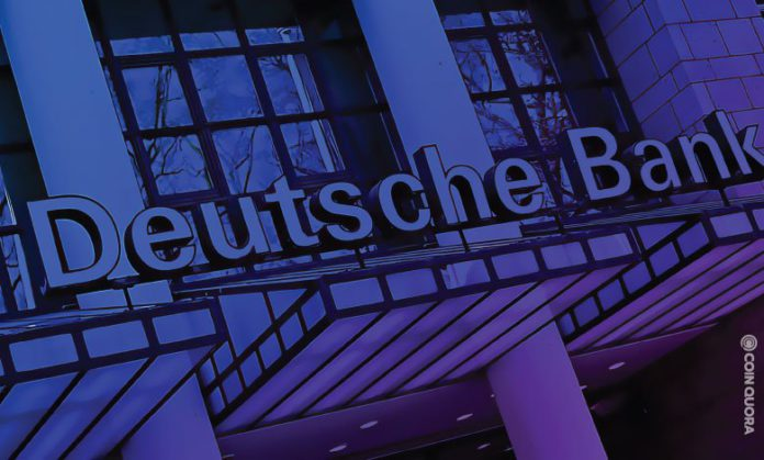 Deutsche Bank to Launch Crypto Trading in Four Phases