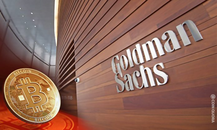 Goldman Sachs Reopens Cryptocurrency Desk Amid Bitcoin Boom