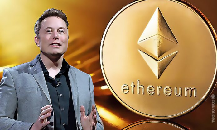 Tesla on Crypto High Will it Buy Ether ETH Next