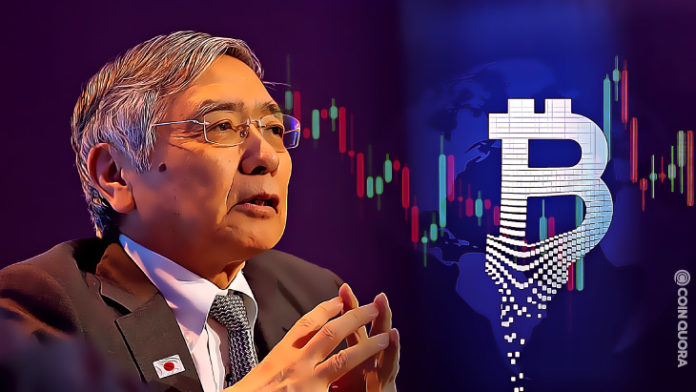 Bank of Japans Governor Calls Bitcoin Speculative