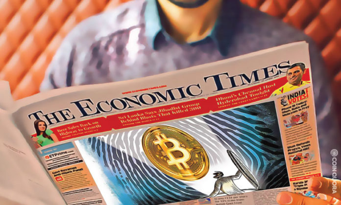 Indian government is rethinking crypto ban The Economic Times