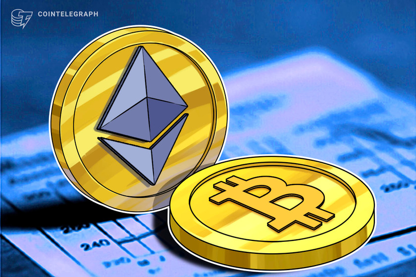 Institutions dump BTC as volume soars for Ether funds