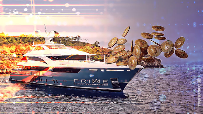 Luxury yacht firm accepts Bitcoin hosts mobile and web services