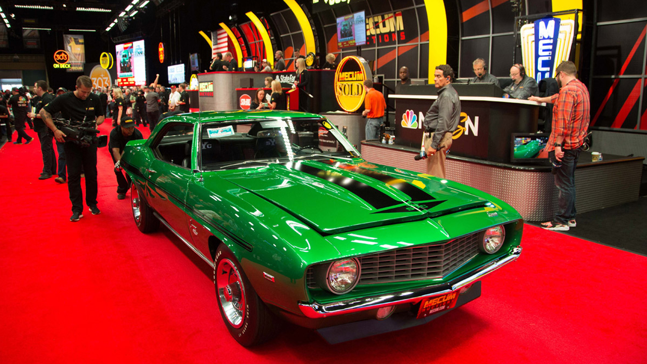 Mecum Auctions Now Accepts Digital Currency Payments for Collector Cars