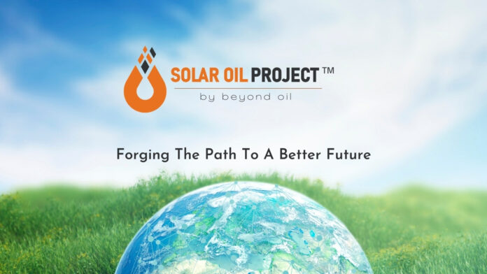 8a434b1ae50e beyond oil launches world s first smart contract driven eco friendly oil production solar oil project