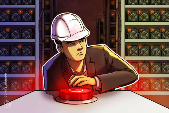 Crypto miner claims all major Yunnan operations shut down in