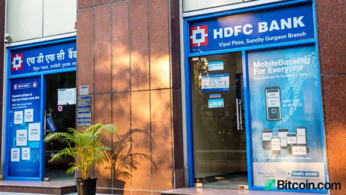 Major Indian Bank HDFC Says Its a Matter of Time