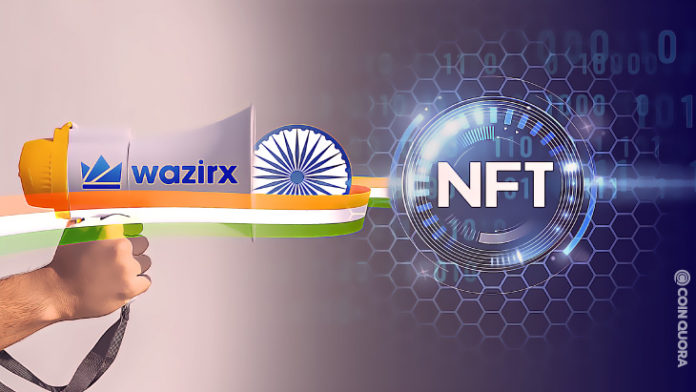 WazirX Launches Indias First NFT Marketplace