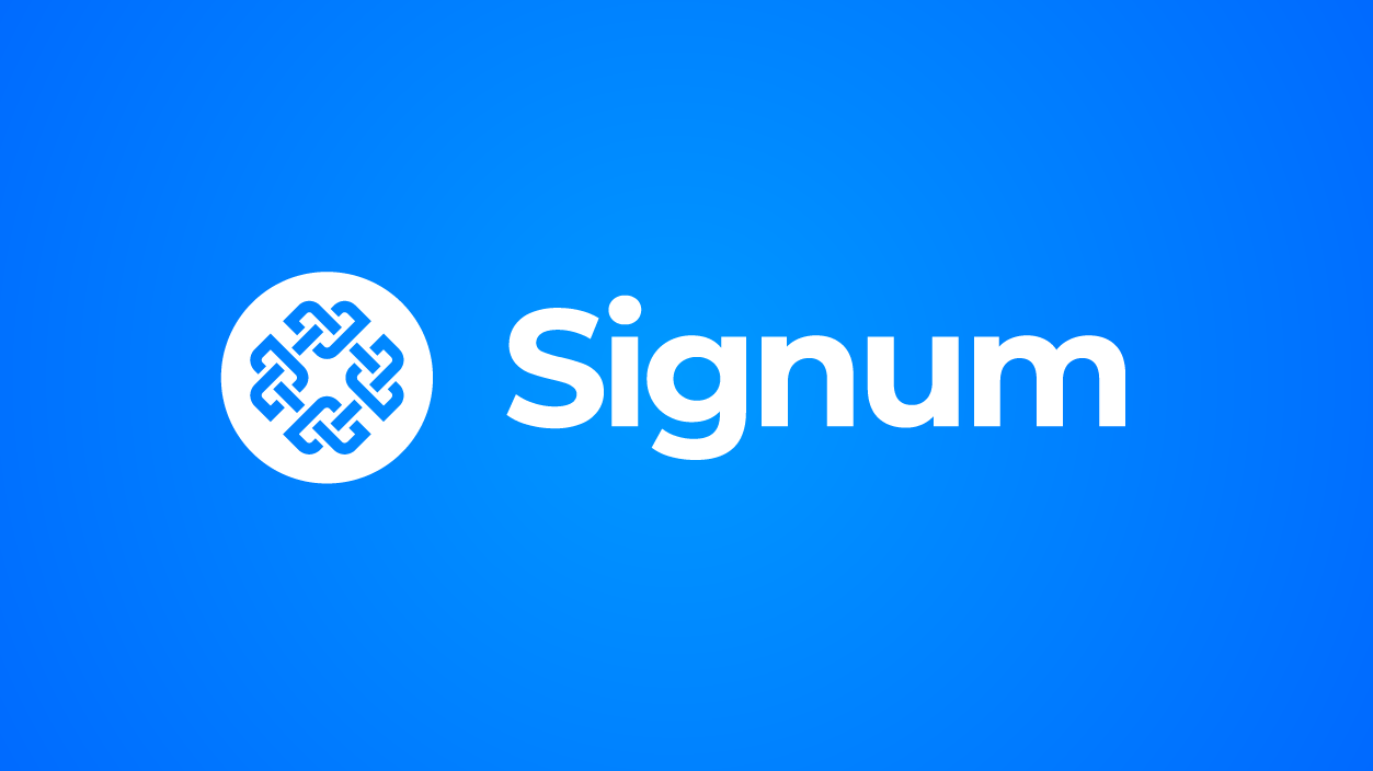 Blockchain Goes Green Signum the Truly Sustainable Blockchain Steps