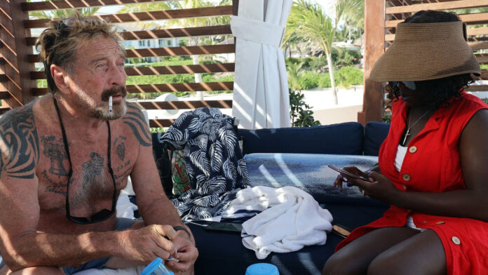 From 100 Million to Nothing — Biographer Claims John McAfee