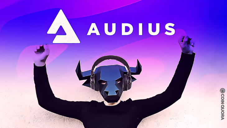 A Good Day for Audius — $AUDIO Shows Bullish Patterns