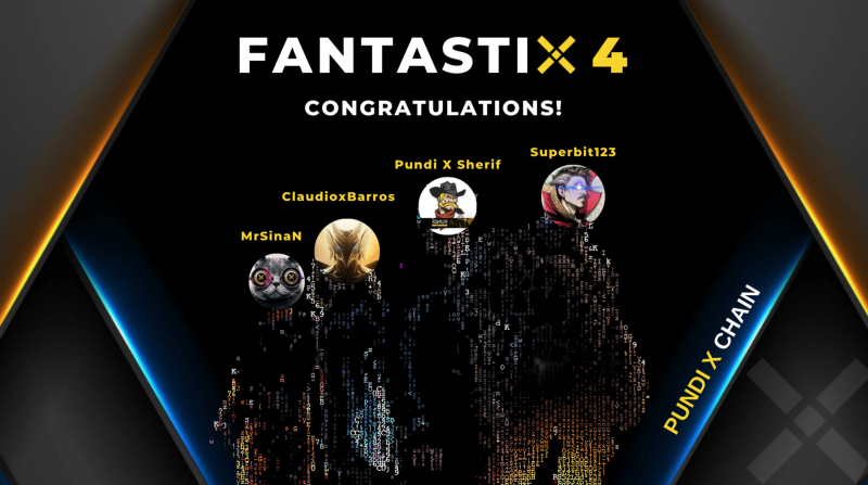 Name the Pundi X Chain Validators event concluded— meet FantastiX