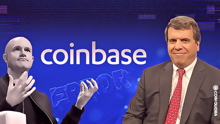 """Nick Colas Says Coinbase CEO Made A """"Rookie Mistake"""" By Calling Out SEC"""